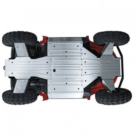 Ski de protection de chassis pour GRIZZLY 700 - 74870 ACQT0177 |OUTBACK IMPORT