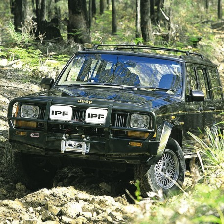 Pare-chocs Winch bar ARB JEEP Cherokee XJ 3450010 | Outback Import - Equipement 4x4