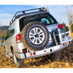 ARB Rear Bumper Side Tire Carrier 5700211 | Outback import