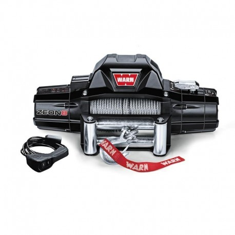 Treuil Warn Zeon 8 12V - TWAD0185 | OUTBACK Import - Equipement 4x4