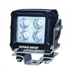 Working light square spot Beam 4 LED 40 W / 4150 lumens