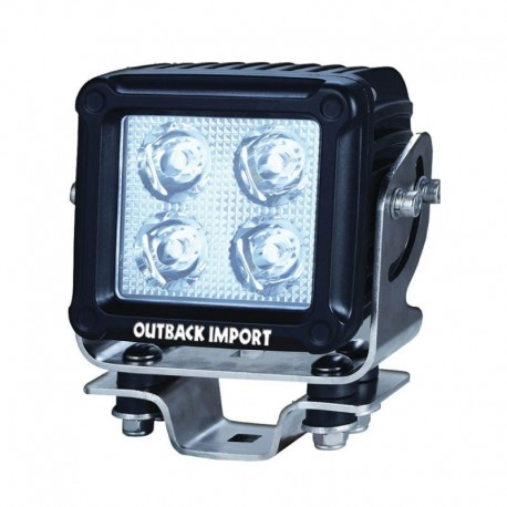 Working light square spot LED4S-S | Outback import