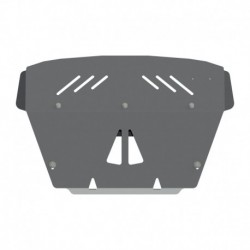 ROCKALU skid plate for engine bay aluminium 5 mm bent