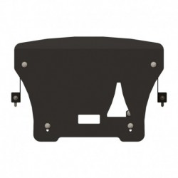 ROCKALU skid plate for radiator steel 2,5 mm bent