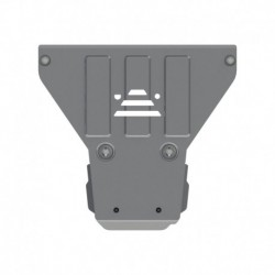 ROCKALU skid plate for transmission case aluminium 4 mm punched