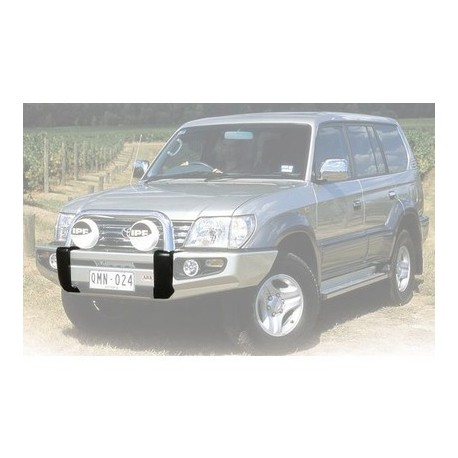 ARB SAHARA BUMPERS -WITH POLISHED CENTRE TUBE 4x4 Models with Flares