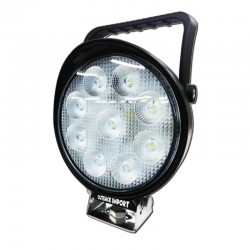 Phare de travail rond flood LED9-F | Outback Import - Equipement 4x4
