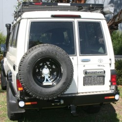 KAYMAR Tire Carrier Right KA8120R | Outback import