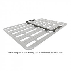Pioneer Platform Front & Side Rails (Suit 42105B) RHINO RACK