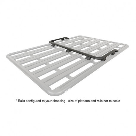 Rebords U pour galerie RHINO Rack 43161B | Outback Import - Equipement 4x4
