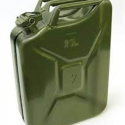 Jerrycan 20 L metálico (color verde) JC4 |OUTBACK IMPORT