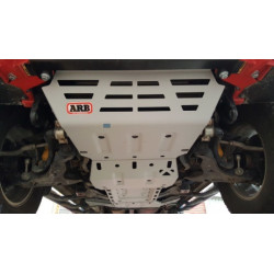 ARB UNDER VECLE PROTECTION AV,BV,BT Mitsubishi L200 15-> Boite auto