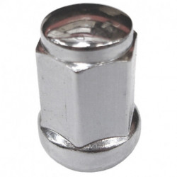 Conical Nut 12x1.25 Hex 19mm lg 35mm chrome