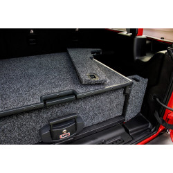 JK 4 DOOR PLASTIC & SUB WOOFER-  DRAWER SYSTEM ACCESSORIES