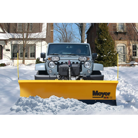 Kit lame de déneigement MEYER Jeep Wrangler JK